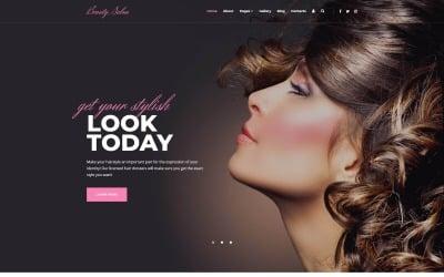 Modern Ready-To-Use Beauty Salon Joomla Template