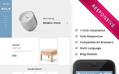 Wizard Furniture Store Responsive OpenCart Template