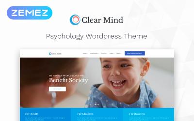 Clear Mind - Tema Elementor de WordPress clásico multipropósito del centro psicológico