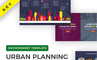 Presentación de planificación urbana - Plantilla de presentación