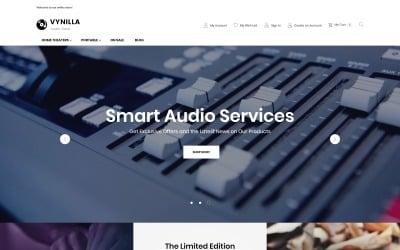 Vynilla - AMP Audio Store Magento Theme