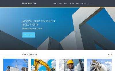 Carantia - Entreprise de construction Joomla Template
