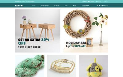 Craft & Art - Handmade & Craft Store Shopify Theme