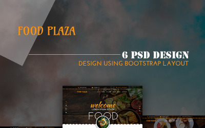 foodPlaza-多用途餐厅PSD模板