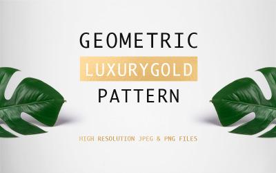Geometric Luxurygold Pattern