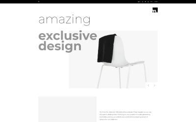 Furniture Store Minimalistic OpenCart Template