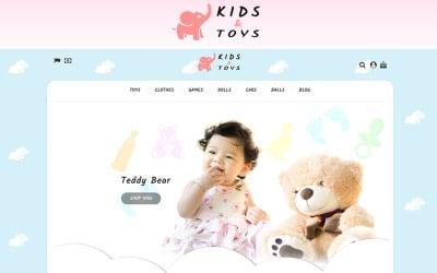 Kids Toys Store PrestaShop Theme