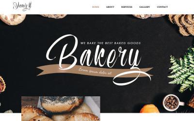 Yamiz-面包店多用途动画WordPress Elementor主题