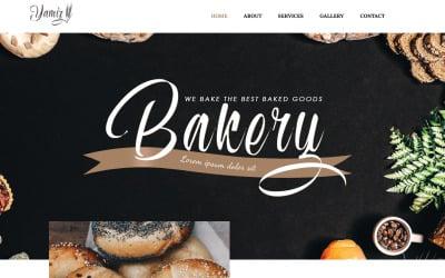 Yamiz - Thème WordPress Elementor animé polyvalent de boulangerie