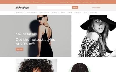 Fashion People - Fashion Store Modern OpenCart Template