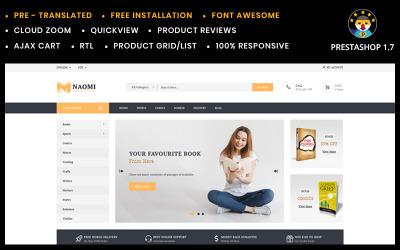 Naomi Book Store PrestaShop-tema