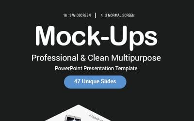 Modello PowerPoint - Mock-up