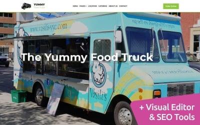 Food Truck Moto CMS 3 Template