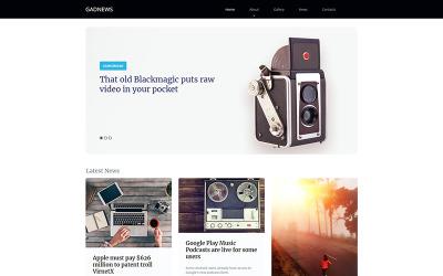 Gadnews - Electronics Review Moto CMS HTML Template
