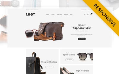 LOOT - Fashion Store OpenCart Template