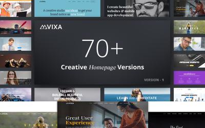 Vixa - Többcélú üzleti Joomla sablon