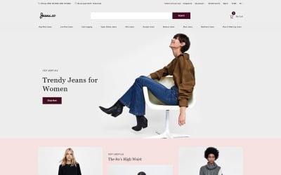 Jeans.co - Jeans Multipage Elegant OpenCart Template