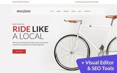 Bikes2Ride - Cycling Moto CMS 3 Template