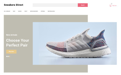 Sneakers Direct - Fashion Store Clean OpenCart Template