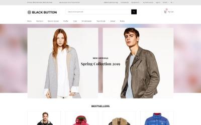 Black Button - Fashion Store Elegant OpenCart Template