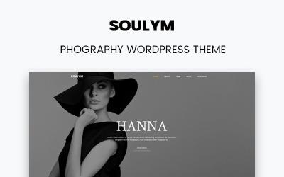 Soulym - tema moderno multiuso WordPress Elementor de fotografia