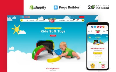 Little Baby Kids & Toys Store Shopify Theme