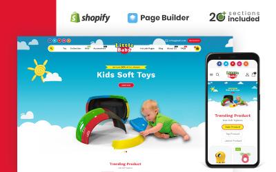小宝宝儿童玩具商店Shopify主题