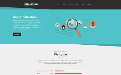 Education - Online Courses Moto CMS HTML Template