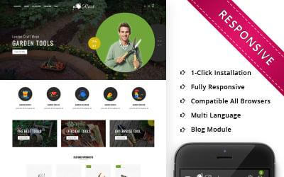 Rush - The Gardening Tools OpenCart Template