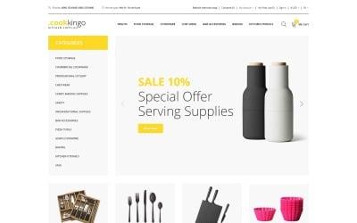 CookKingo - Kitchen Supplies Clean OpenCart Template