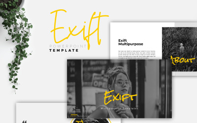 EXIFT - креативний шаблон PowerPoint
