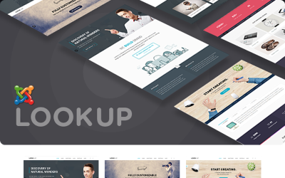 LookUp - Responsive Multipurpose. Joomla Template