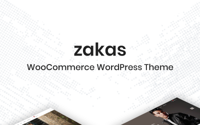 Zakas – WooCommerce WordPress Theme