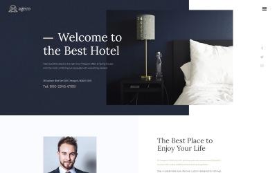 Mageco - Многофункциональная минимальная тема WordPress для отелей