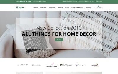 Tidecore - Home Decor Modern OpenCart Template