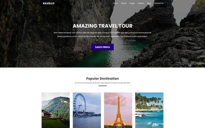 Travello | İnanılmaz Seyahat ve Turlar PSD Şablonu