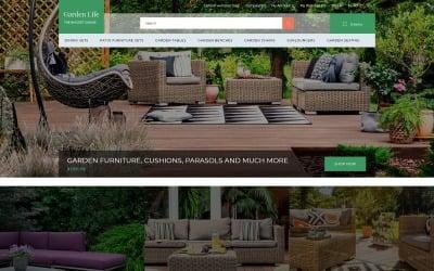 Garden Life - Garden Design eCommerce Modern OpenCart Template