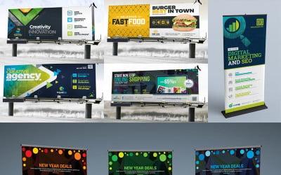 Signage Template  | 30+ Individual Items Bundle