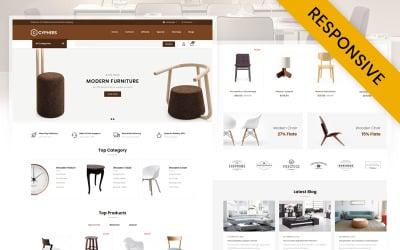Сайфери - шаблон OpenCart магазину меблів