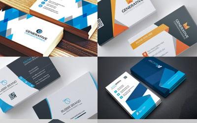 Business Card 18 Templates Bundle - Corporate Identity Template