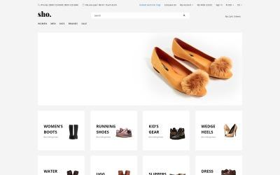 Sho. - Shoe Store E-Commerce Clean OpenCart Template