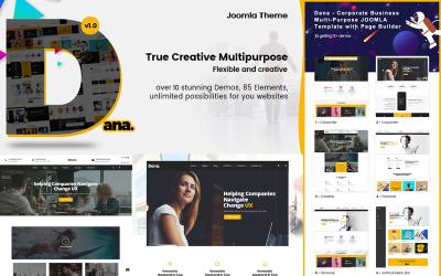 Dana - Corporate Business Joomla Template