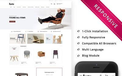Furni - The Furniture Store Responsive OpenCart Template