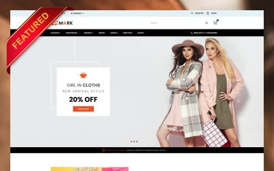 Mark Fashion and Shoes Store OpenCart Template
