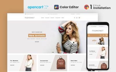Fashionist Fashion Store OpenCart-mall