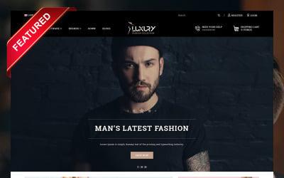 Luxury Minimal Fashion Store OpenCart Template