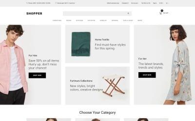 Shopper - Wholesale eCommerce Clean OpenCart Template