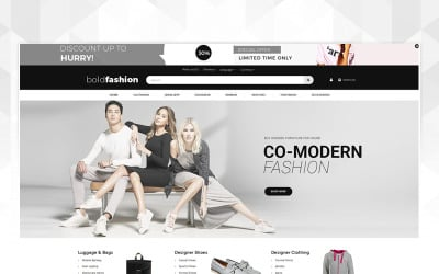 Bold Fashion Store OpenCart Template