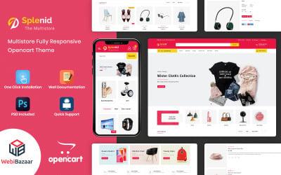Splenid - Shopping Mall OpenCart Template