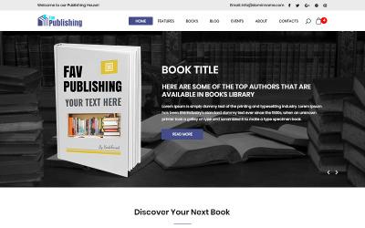 Fav Publishing - Modello PSD per la pubblicazione di libri